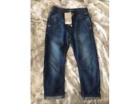 Boys next jeans 3/4 years
