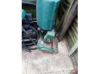 Pond equipment and qualcast petrol mower