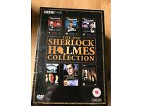 Sherlock Holmes DVD collection