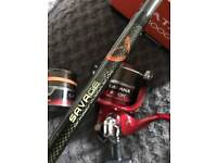 Pike spinning rod/reel