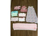 Baby girls bundle 0-3 months £7 each or £12 for both