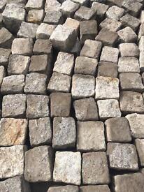 Granite Setts (100mm x 100mm x 100mm)