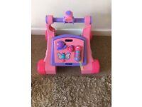 Pink Tomy Baby Walker