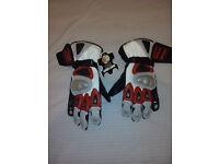 Genuine Leather Motorbike Gloves