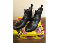 Joules Ladies NEW wellington welly boots.....Size 6 wellies 💕☀️