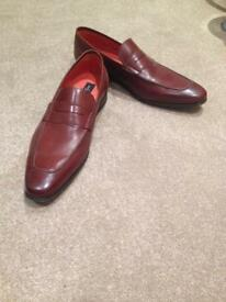 Jeff banks leather shoes size 9 brand new
