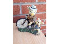 Pigs on Bikes ornament. Regency Fine Arts