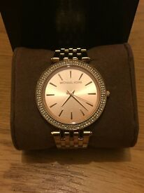 Michael Kors Womens Rose Gold Watch For Sale