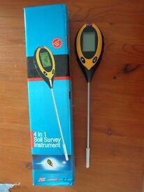 4 in 1 Soil Survey Instrument £8
