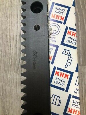 Khk Carbon Steel Gear Rack With Bolt Holes Srfd4-1500 - New