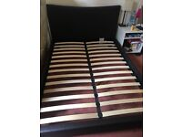 Almost new double bed