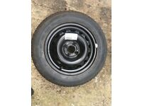 NEW VAUXHALL CORSA SPARE WHEEL