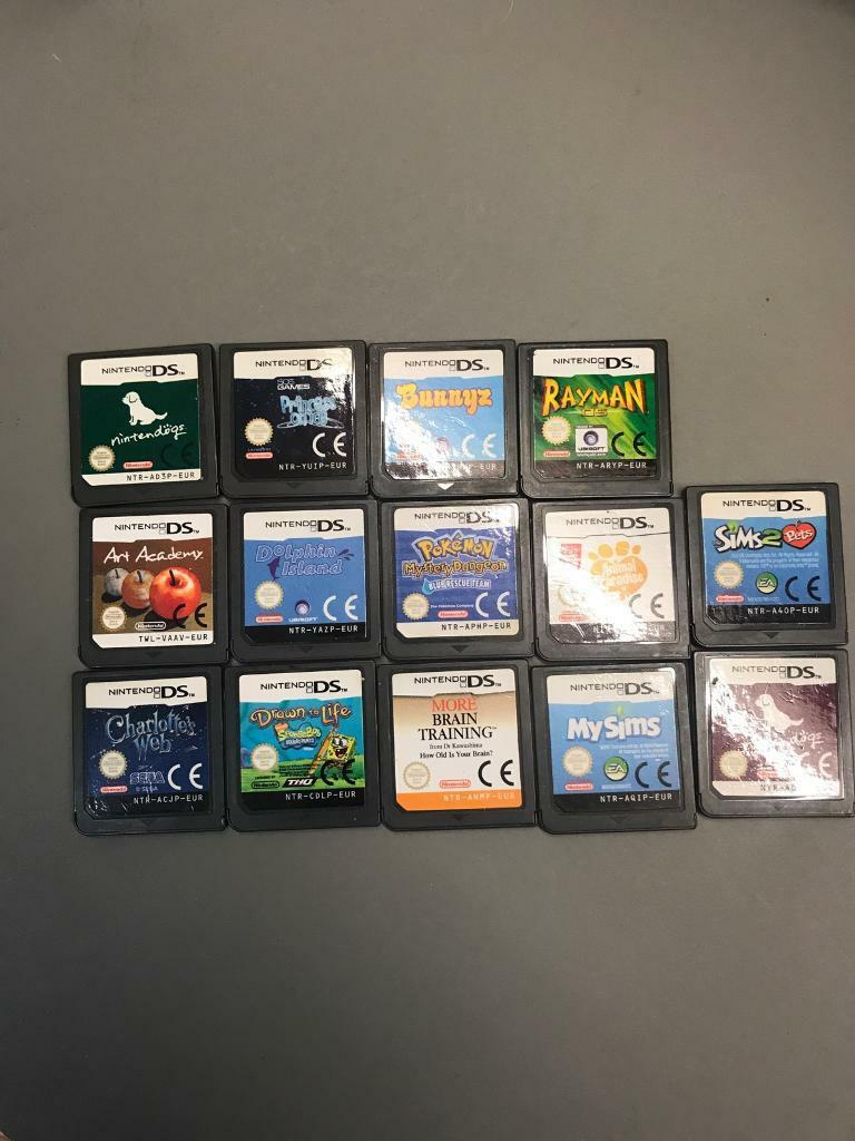 DS Game Bundle- Works in all Nintendo DS consoles including 3DS 14 GAMES