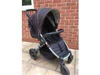 Britax B-Motion pushchair, winter snug and soft carry cot