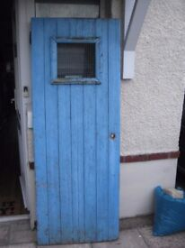 garden, shed gate very solid