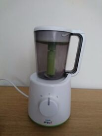 Baby weaning steamer and blender