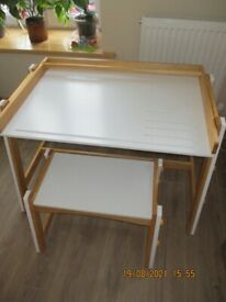 Lidl Children's Desk and Stool, excellent condition
