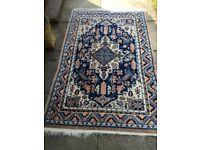 Blue Persian type Rug - All wool