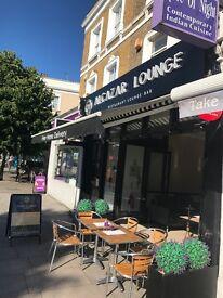 Turkish restaurant & shisha lounge for sale