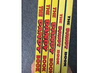 The Dandy Annual Book 1992, 1995, 1996, 1997, 1999