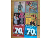 30 vintage vinyl albums