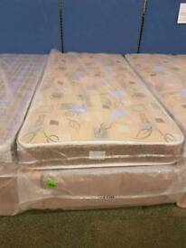 Robin quilted 3ft single divan bed