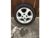 Peugeot Alloy Wheels with Pirelli Tyres