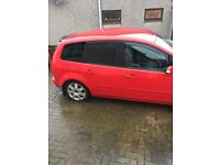 Red Ford Focus cmax
