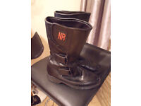 "Ladies motorcycle boots ""NR"" size 4"