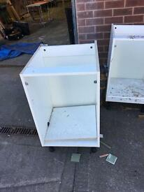 Kitchen units free to collector