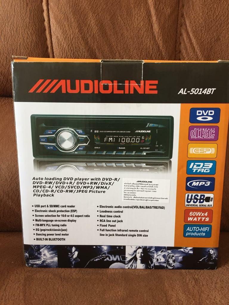 CD player DVD iPad usb memory Bluetooth, £45