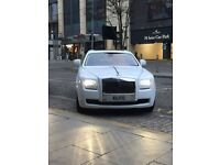 ROLLS ROYCE PHANTOM - CHAUFFEURS WEDDING - PROMS - PARTY -ETC CALL US ON 07399937313 - 08000387111