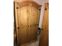 Corona Wardrobes and Chest of Drawers