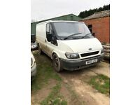2 ford transits ... spares or repair ! Both start run and drive