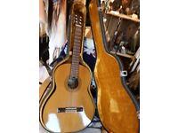 Kimbara hand crafted classical guitar)