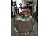 Fisher price jumperoo in full working order with lights & music