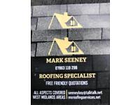 Roofing specialist. All aspects covered.