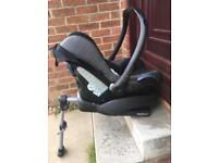 Maxi-Cosi Cabriofix and Easy base 2 package