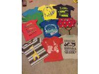 T-shirts 3-4 years