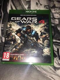 Gears of war 4 Xbox one (includes ALL gears of war games)