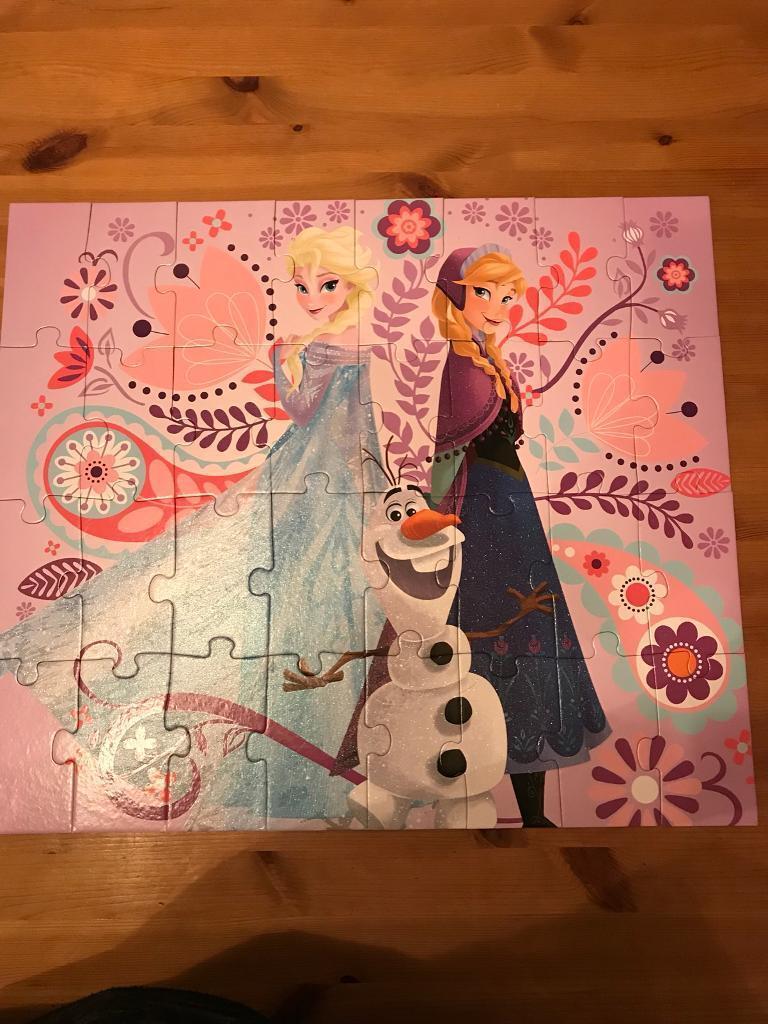 Disney Frozen Glitter Puzzle