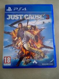 New Just Cause 3 PS4 not used