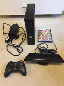 Xbox 360 Slim 4GB with Kinect
