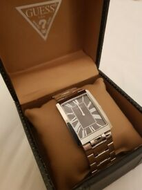 Men's steel Guess watch