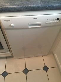 Zanussi Dishwasher - less than 6 months old immaculate condition.