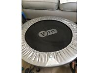 Vfit fitness equipment perfect for home workout includes trampoline, stepper, weights, ball , ropes