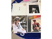 Elton John 4 Vinyl Records