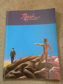 Rush Hemispheres book only