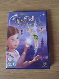 Disney Tinkerbell and The Great Fairy Rescue DVD