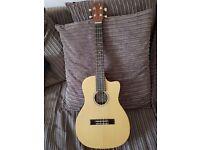 Lani electro acoustic baritone ukulele
